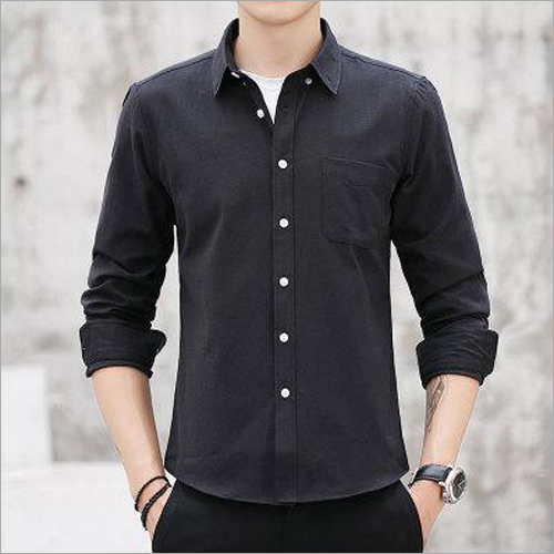 Mens Black Shirts