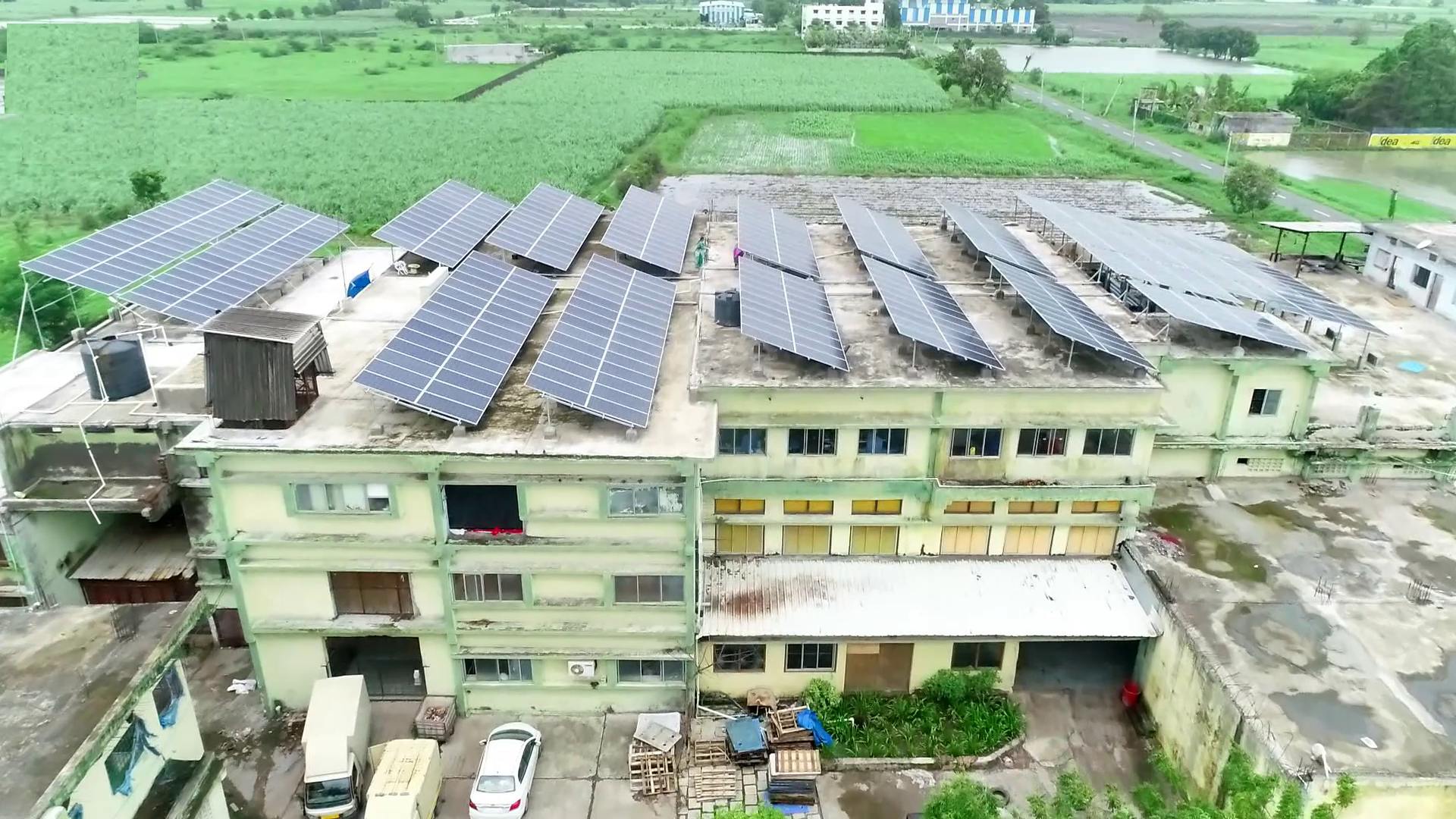 Industrial Roof Top Solar System