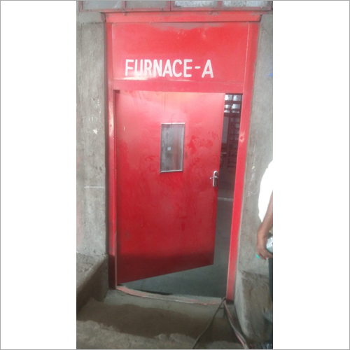 MS Furnace Door Fabrication Work