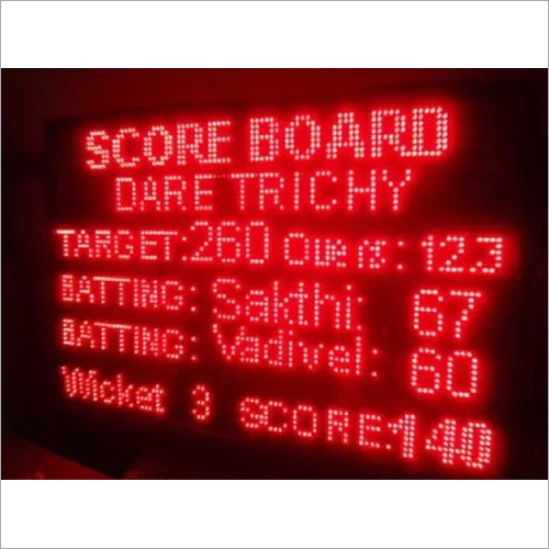 Cricket Score Board display
