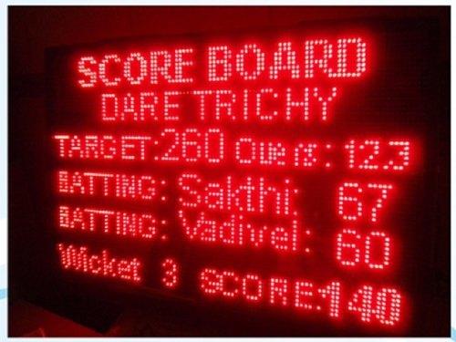 Kabaddi Score Board display
