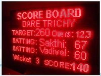 Kabaddi Score Board display