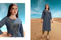 Desert Point Viscose Kurti