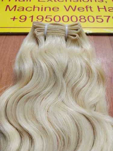 Natural Remy Blonde Indian Human Hair Extension