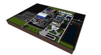 Virtual image of Power plant