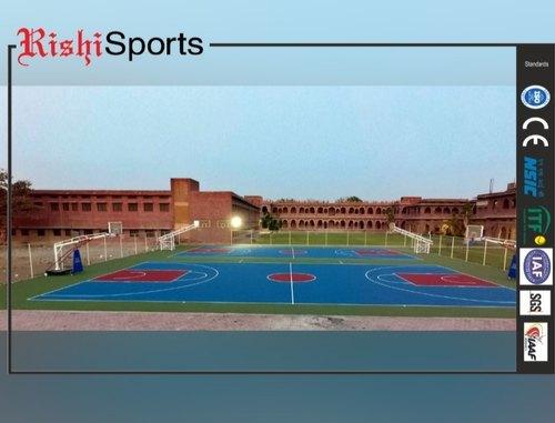 Acrylic Basketball Court Flooring