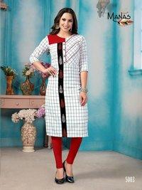 Aarna Manas Handloom Cotton Designer Kurtis