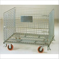 Pallet Mesh Bins With Wheels