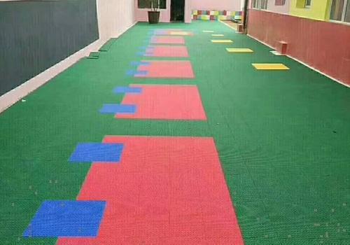 Outdoor Kids Children Playground Flooring