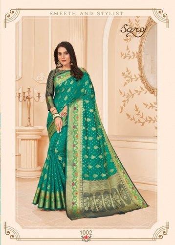 Grab And Pack Lichi Silk Saree