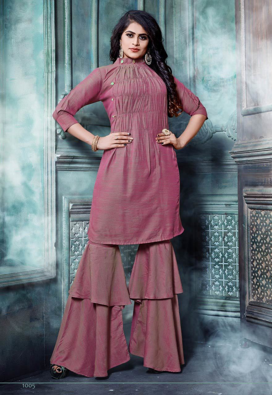 Adaa Banwery Wedding Handwork Regal Kurta Set