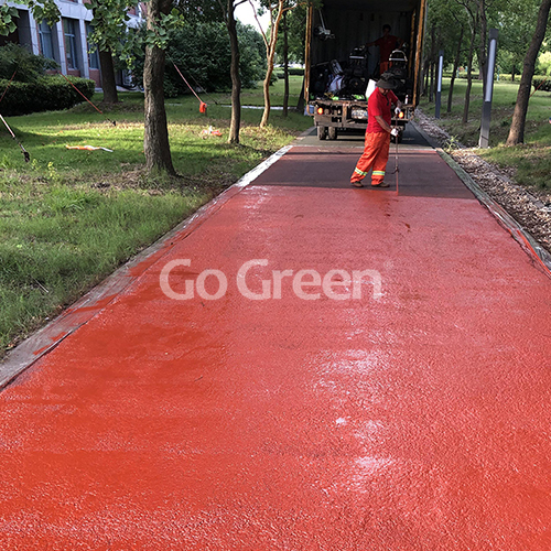 Color Asphalt Sealer Coating