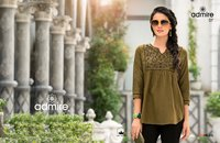 Admire Vol-2 100Miles Tunic Embroidery Tops