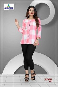 Ador Vol-2 Aliksha Dresses is Rayon Ladies Top
