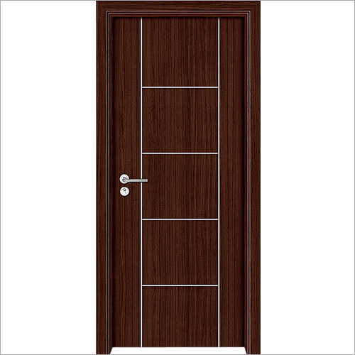 PVC Brown Solid Door