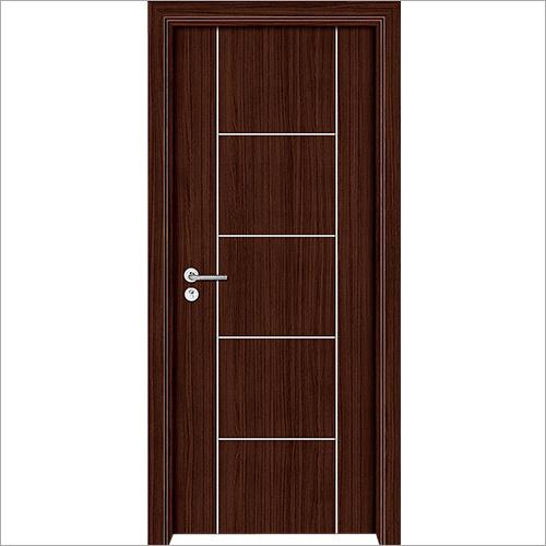 PVC Brown Solid Door