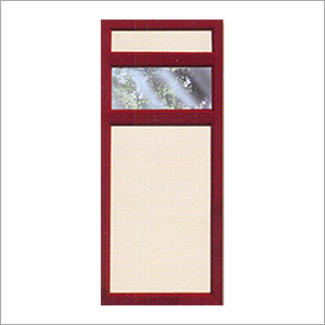 PVC Profiled Panel Door Shutter