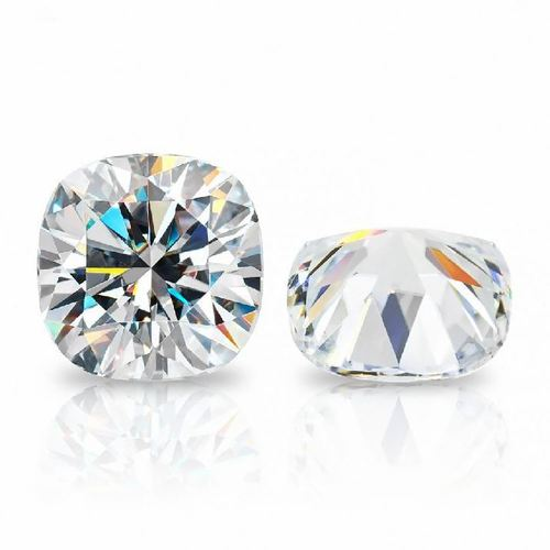 Cushion Shape Moissanite Diamond