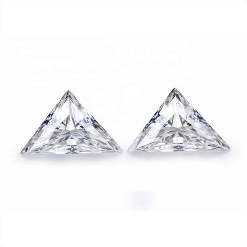 Triangle Cut Loose moissanite Stone
