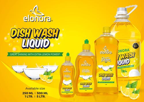 Elonora Dishwash Liquid 5Litre