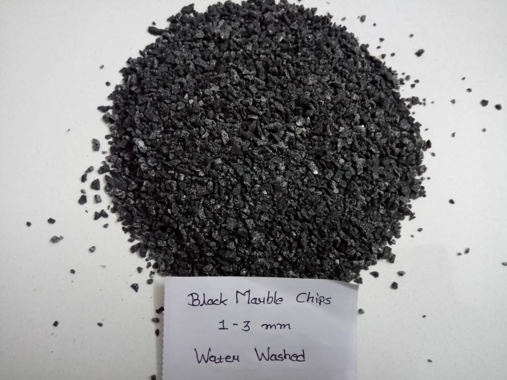 Manufacturer black granite & marble pebble wash flooring wholesale