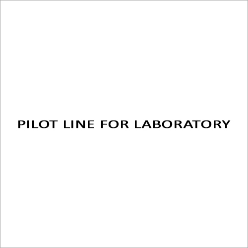 Pilot Line For Laboratory