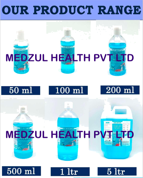 100 ml secure plus Hand Sanitiser