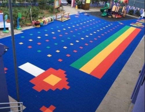 Indoor PP Interlocking Tile Flooring