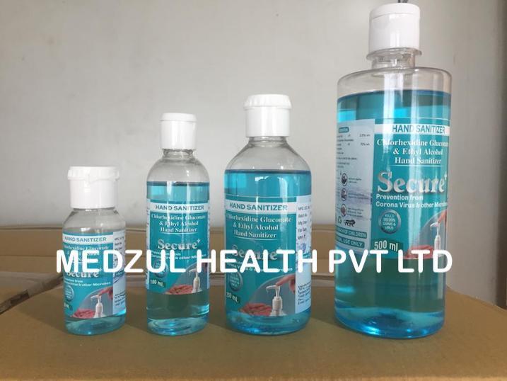 5 litres secure plus hand sanitizer