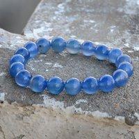 Blue Chalcedony Gemstone Bracelet PG-156002