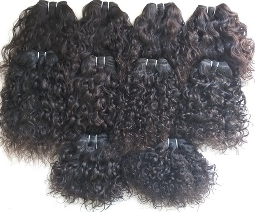 Temple South Curly Indian Human Hair