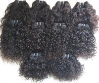 Temple Curly Human Hair