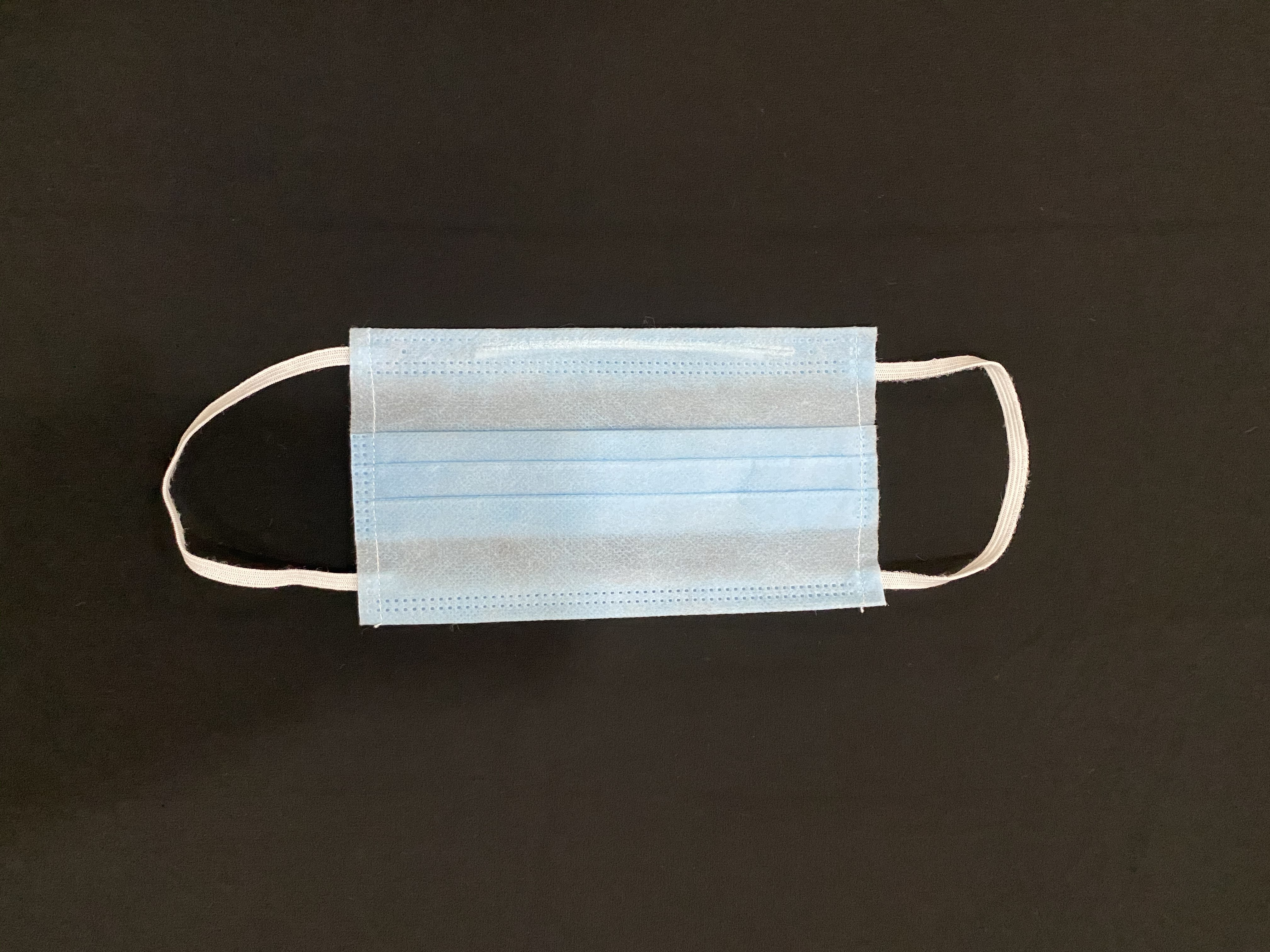 3 Ply Non Woven Mask With Nose Pin Machine Stitched Ear loop