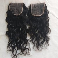 Raw Wavy Human  Hair Lace Closure