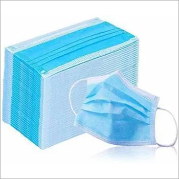 3 Ply Non Woven Mask With Nose Pin Ultrasonic Ear loop