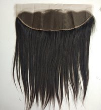 Raw Straight Human hair Frontal 13x4