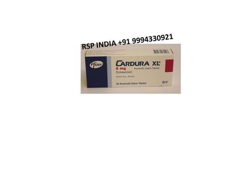 Cardura Xl 8mg Tablets