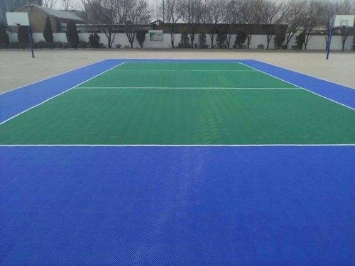 PP Interlocking Tile for Tennis Court