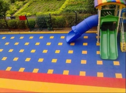 Outdoor PP Interlocking Sports Flooring