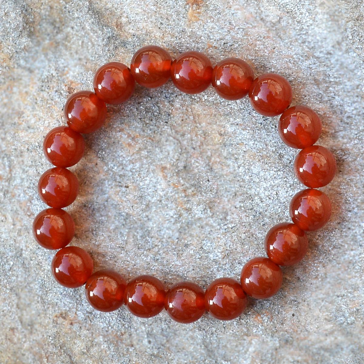 Red Onyx Gemstone Bracelet PG-156008