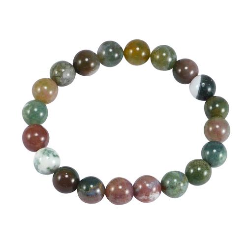 Multi Agate Gemstone Bracelet PG-156009