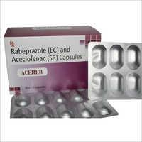 Rebeprazole (EC) And Aceclofenac (SR) Capsule