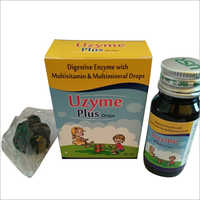 Digestive Enzyme With Multivitamin And Multimineral Drops
