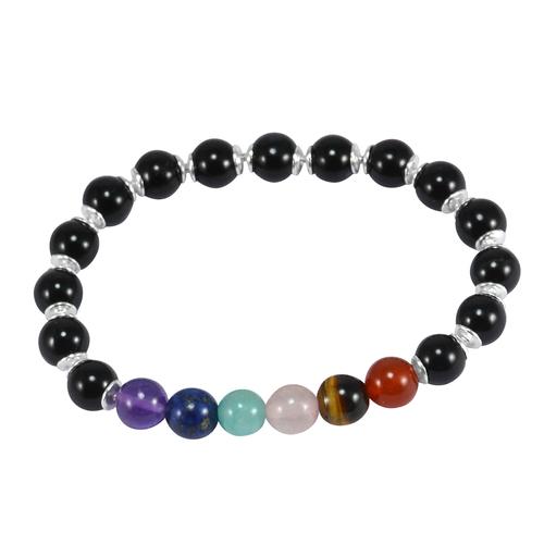 Multi Gemstone Beads Bracelet PG-156017