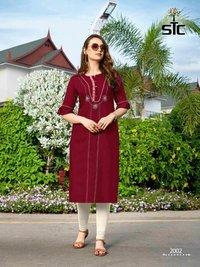 Akshar Textile Aarvi Vol-2 Kurti Set Manufacturer