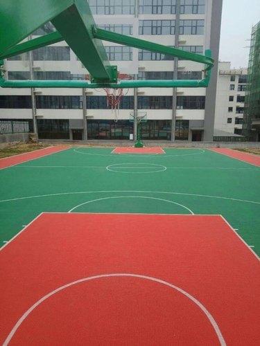 PP Outdoor Portable Basketball Court