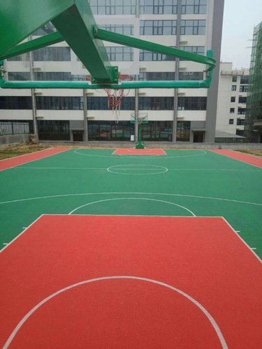 PP Outdoor Portable Basketball Court