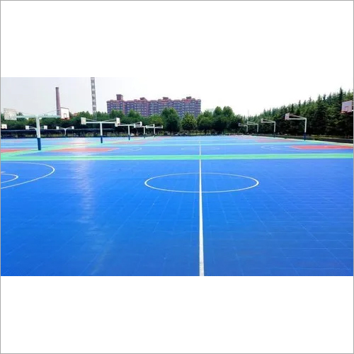 Outdoor Professional Basketball PP Interlocking Sports Floor