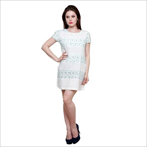 Shiffli & Buta Combo Midi Dress