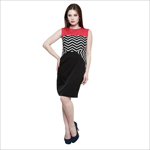 Zig Zag Midi Dress